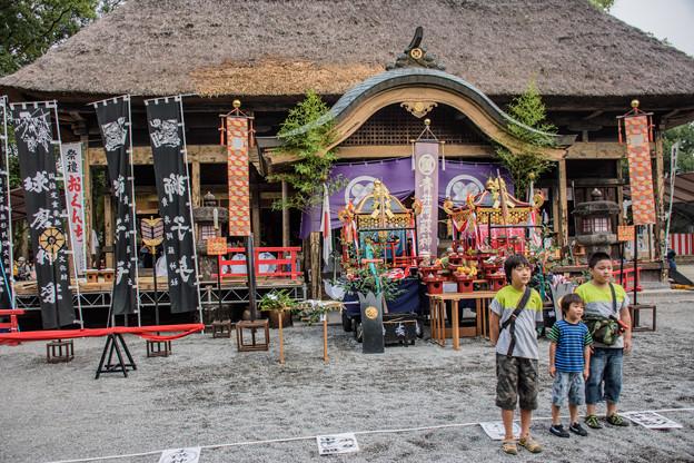 写真: 国宝 青井阿蘇神社