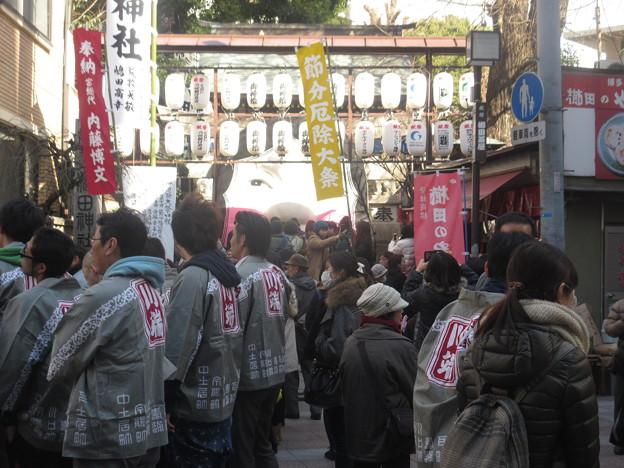 節分の櫛田神社 2