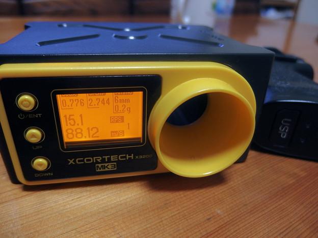 3.USPの新しいスプリングで計測