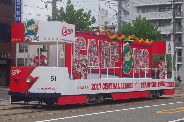 広島電鉄 貨51号