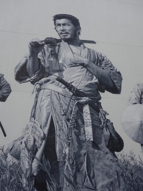 七人の侍・菊千代 (世田谷区成城)
