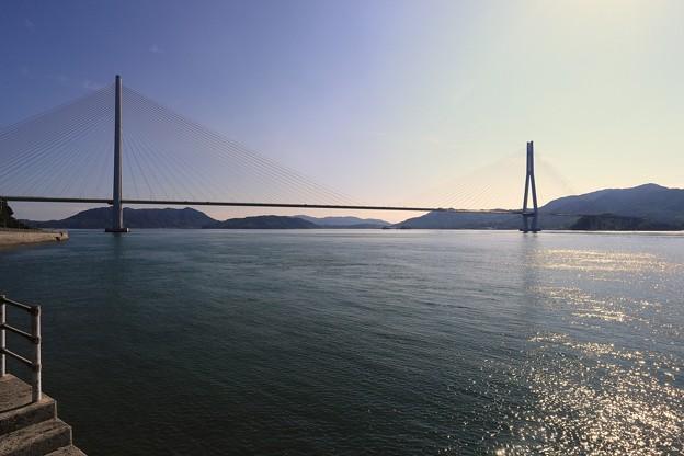 写真: しまなみ(多々羅大橋帰り)