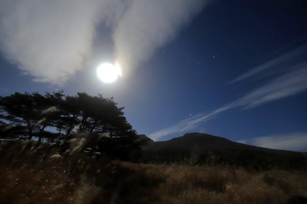 えびの高原 月光