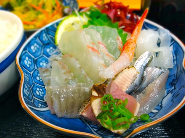 鮮魚さかい 木金限定 ランチ 刺身定食 呉市本通6丁目