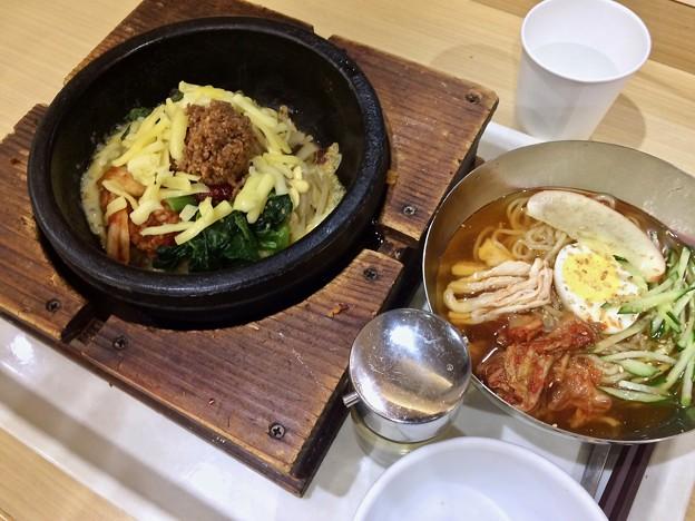 石焼ビビンバ ミョンドンヤ チーズビビンバ  冷麺 広島市中区宝町 フジグラン広島