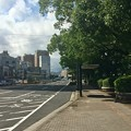 Photos: 的場町 バス停 段原方向 広島市南区的場町2丁目 比治山通り 2017年7月18日