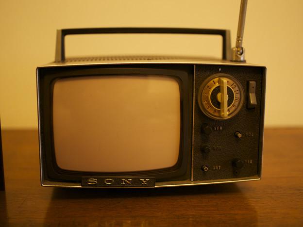 SONYの小型テレビ