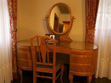 寝室の化粧台