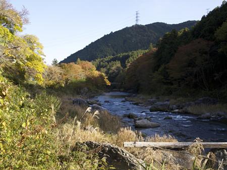 鵜の瀬橋下流方向