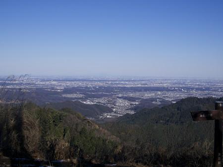 景信山山頂から