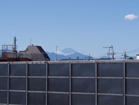 分倍河原より富士山を望む