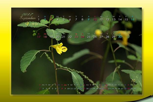 9月カレンダー