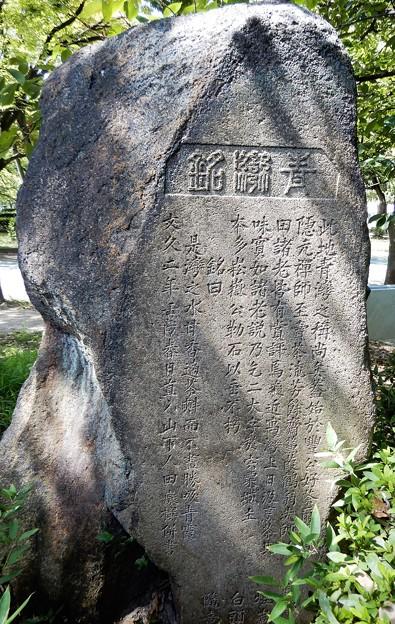 青湾の碑 (2)