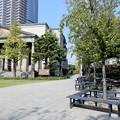 写真: 本日の昼食場所(桜之宮公園泉布観地区) (1)