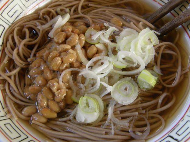 Photos: 納豆蕎麦