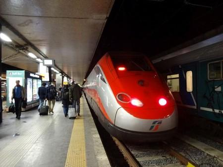 ミラノ行きFR9552(テルミニ駅)