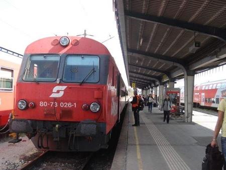 ウィーン行き列車(ウィーン)