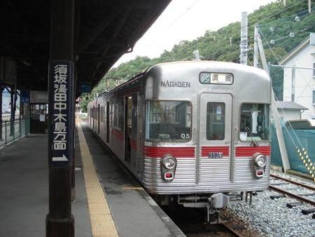 須坂行き普通列車(屋代駅)