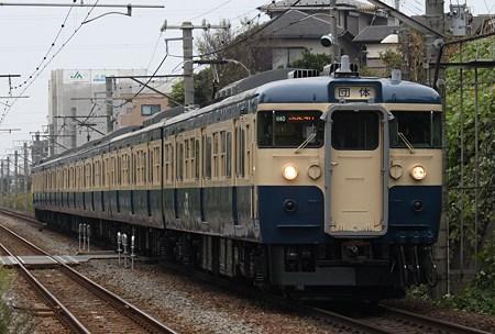 115系M40編成 ひまわり号