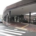 東海道本線彦根駅表口南側階段下付近。(2015年)