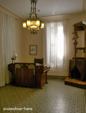 ガウディの仕事部屋