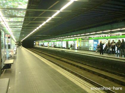 地下鉄リセウ駅
