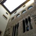 ピカソ美術館の中庭の1つ