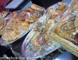 カフェのパン類