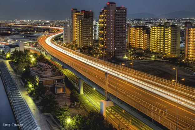 阪神高速、泉大津パーキングエリアVol2
