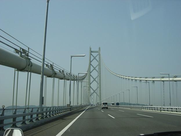 写真: 明石海峡大橋
