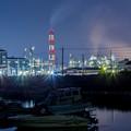水島の夜景