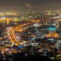 写真: 北九州 夜景