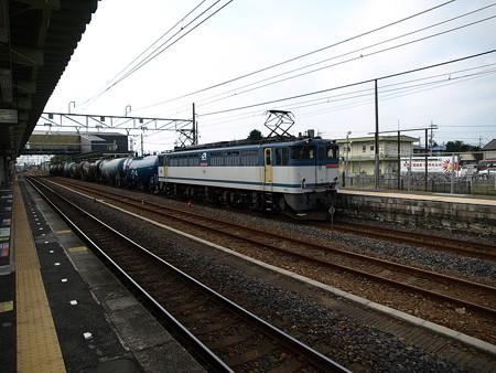 貨物列車(宝積寺駅)7