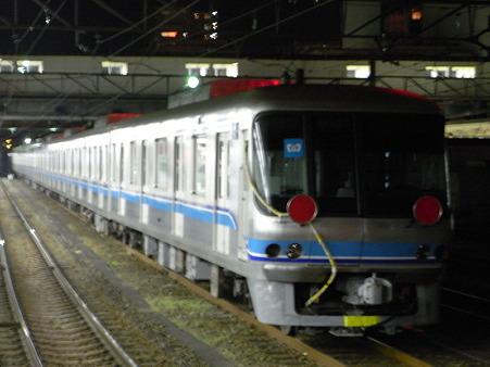 地下鉄車両(八王子駅)
