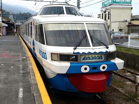 フジサン特急(大月駅)1
