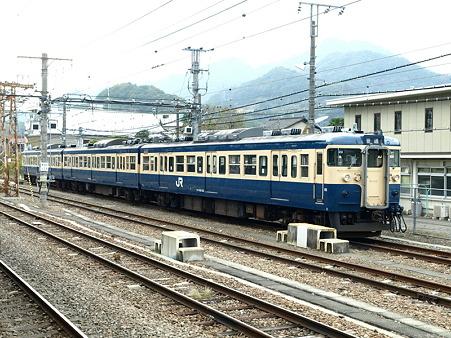 115系中央本線(大月駅)6