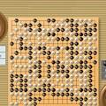 Photos: 13子局(その4)(白194目勝ち)