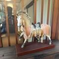 古都の離れ 「東山山荘」の馬