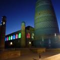 Photos: シルクロード イチャン・カラの夜景Night view at Itchan Kala,Khiva