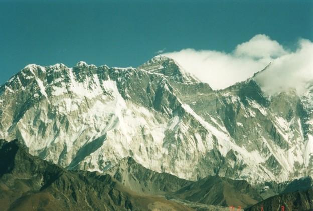 標高4500mから望むエベレスト Panoramic view of Everest