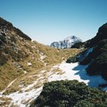 合歓山東峰と奇萊 台湾 Qilai Mountain from Hehuanshan