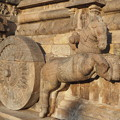 写真: 山車の跳ね馬~ヒンドゥー彫刻  Prancing horse