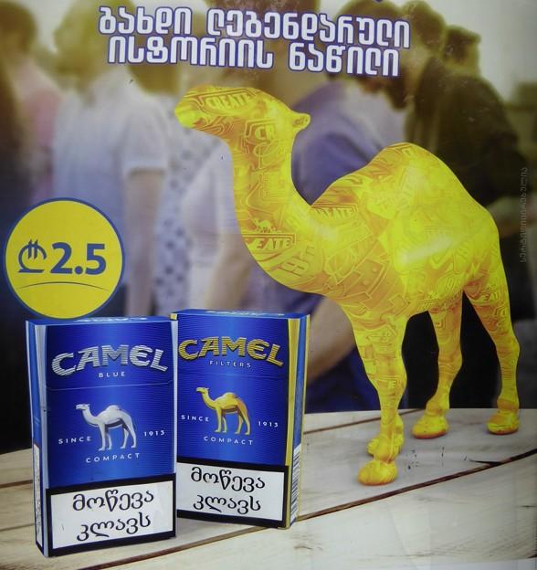 所変われば~ジョージア Camel pack