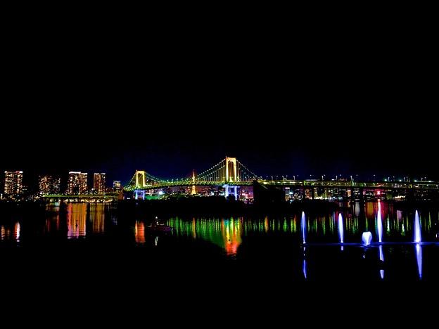 Photos: レインボーブリッジHDR風