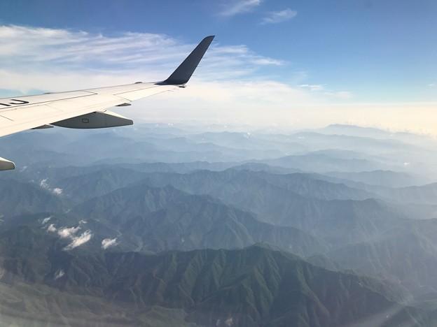 写真: 九州山地