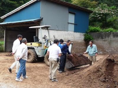堆肥場の見学