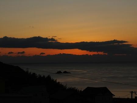 かんぽの宿熊野 12月朝陽6:58