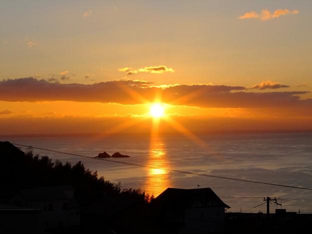 かんぽの宿熊野 12月朝陽7:06