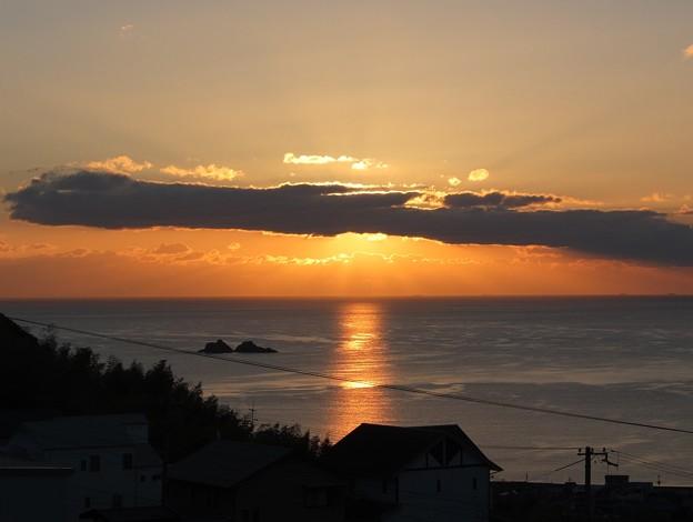 かんぽの宿熊野 12月朝陽7:11