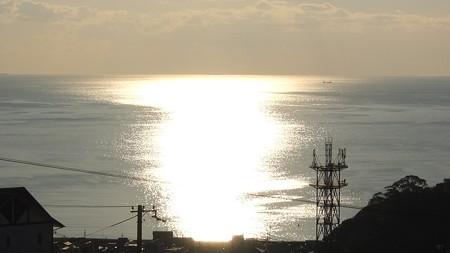 かんぽの宿熊野 12月朝陽8:11